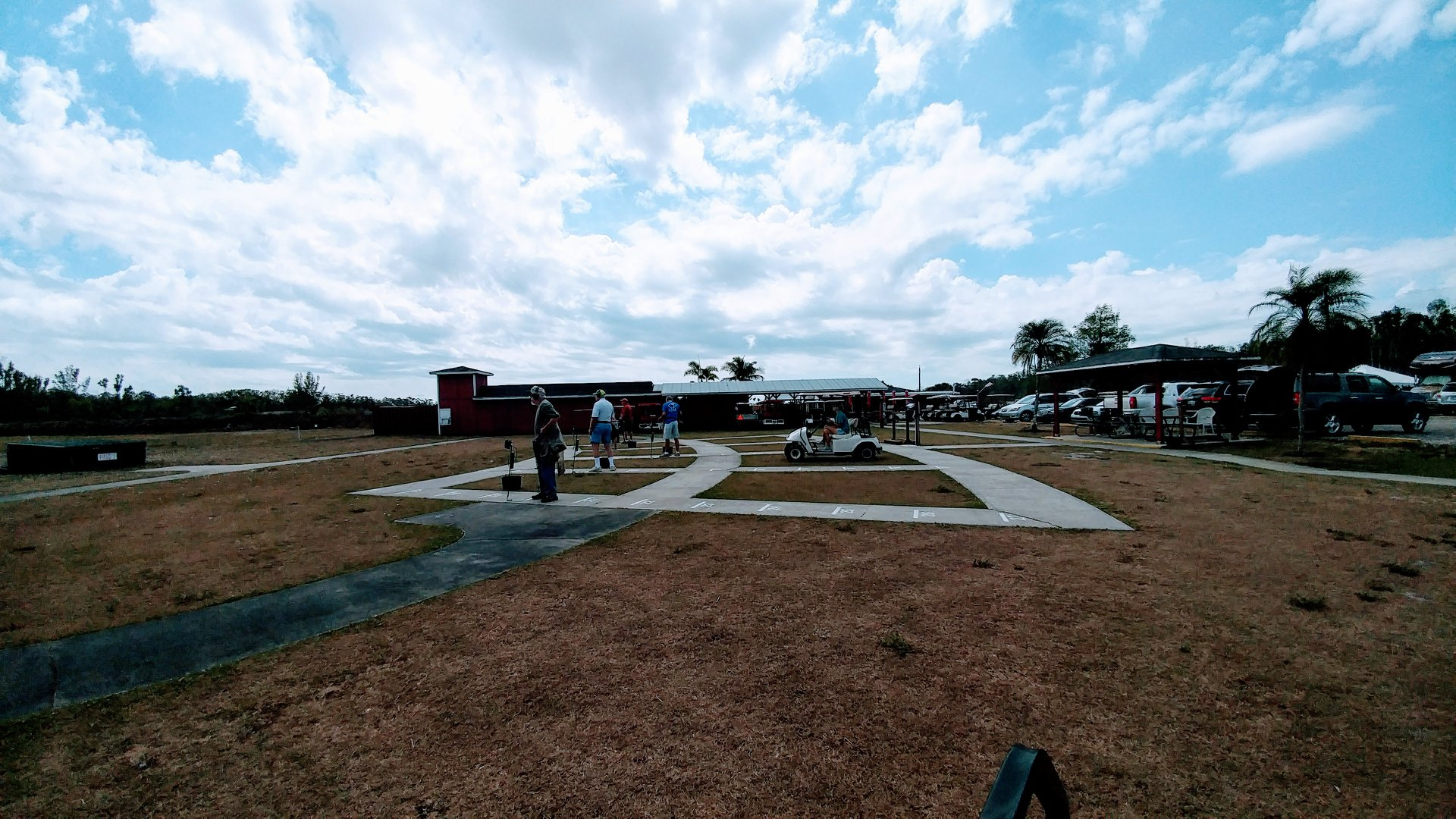 ATA trap shoot at Gulf Coast Clays gun range