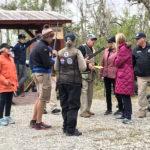 A field discussion. Bill Rose Memorial