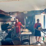 Our cooks at the gun club