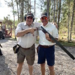 Members on Sporting Clays course at Members' party 2020 at GCC