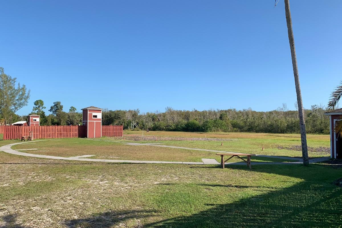 Skeet field 4 at GCC