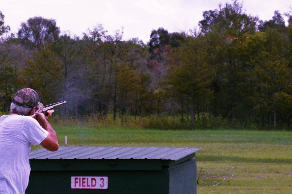 Trapshooter on field 3